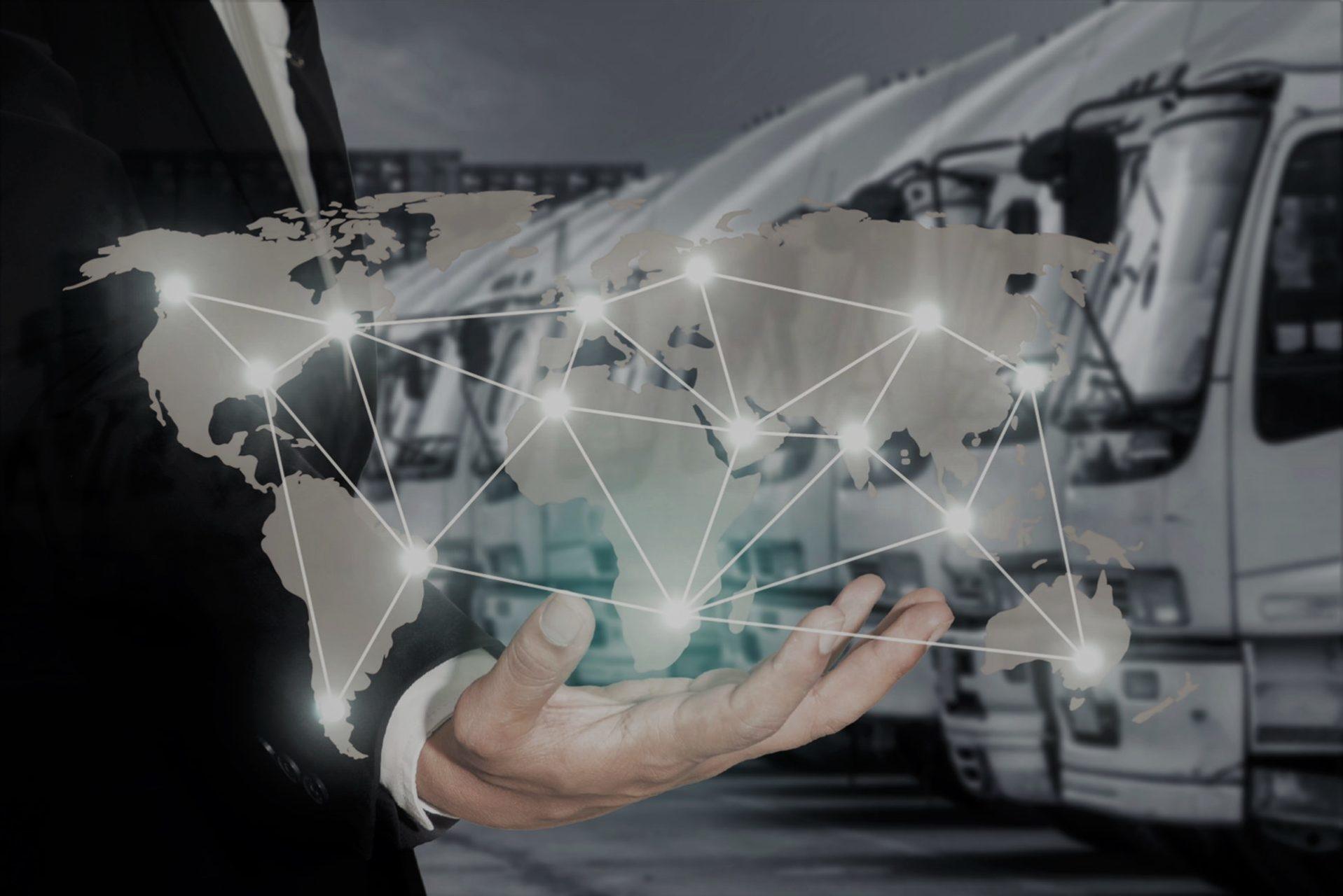 global distribution logistics whole world